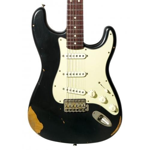 Nashguitars 客製仿舊吉他 S63 黑色 / 中度仿舊 Medium / 玫瑰木指板