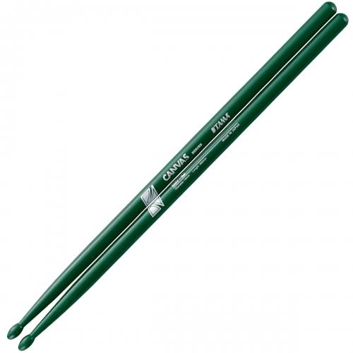 TAMA 5A 鼓棒 Canvas系列 藍/白/綠