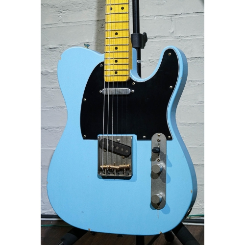 Nashguitars 客製仿舊吉他 T57 Daphne Blue / 輕度仿舊 Light / 楓木指板