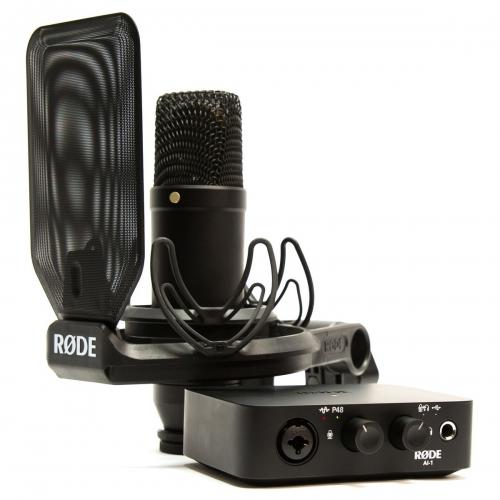 Rode NT1 / AI-1電容麥克風與錄音介面套裝組