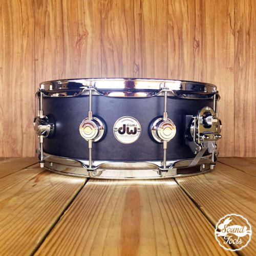 DW Collector's 小鼓 5.5x14 Ebony消光