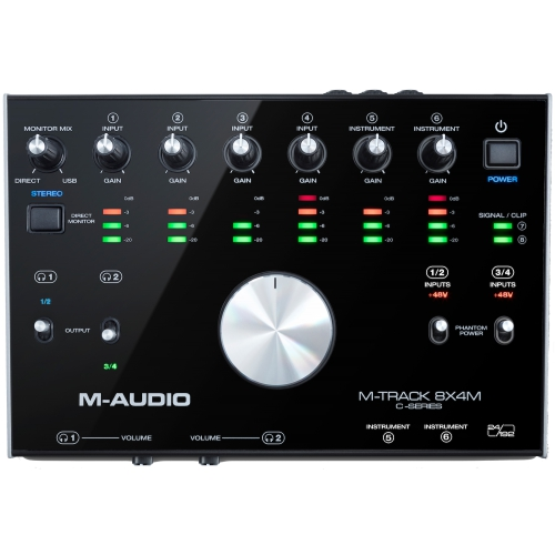 M-Audio M-Track 8x4M USB/MIDI 錄音介面