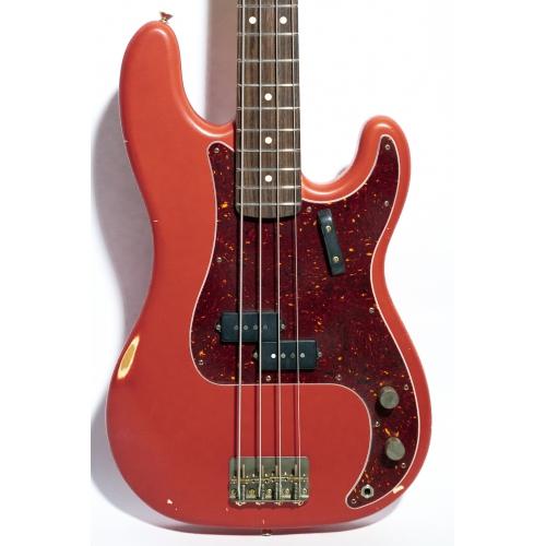 Nashguitars 客製仿舊貝斯 PB63 Fiesta Red 紅色 / 輕度仿舊