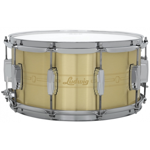 Ludwig 7x14 Heirloom 黃銅小鼓 LBR0714