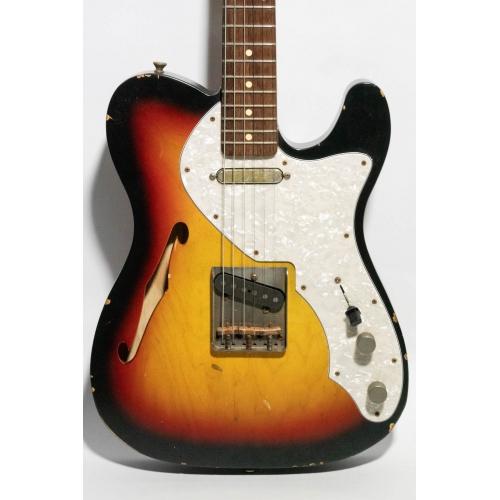 Nashguitars 客製仿舊吉他 T69ThinLine 3TS / Light 輕度仿舊 / 玫瑰木指板