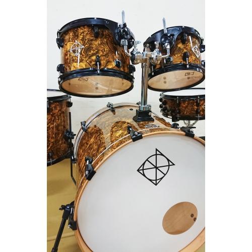 Dixon 限量爵士鼓組 美國製 Delmar 大理石紋貼皮|5粒組、4色可選
