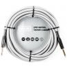 Dunlop 導線 24ft 專業級II頭銀色編織 DCIW24