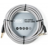 Dunlop 導線 24ft 專業級IL頭銀色編織 DCIW24R