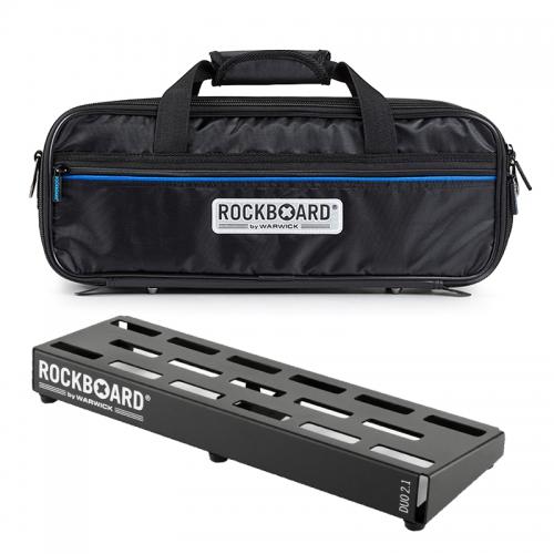 Rockboard Duo 2.1 效果器盤附袋(盤面47x14公分)