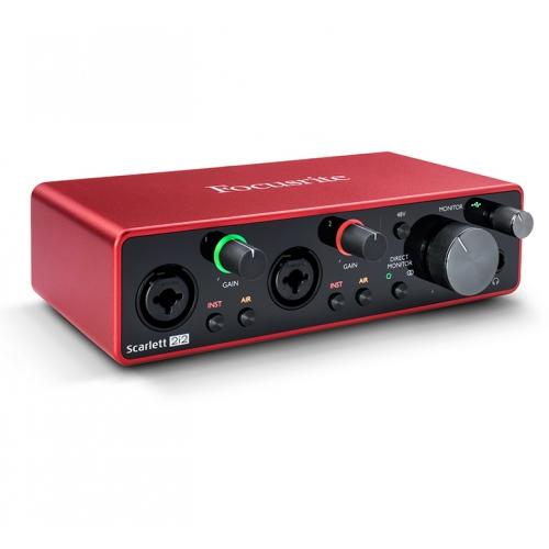 Focusrite Scarlett 2i2 第三代 Type-C USB 錄音介面