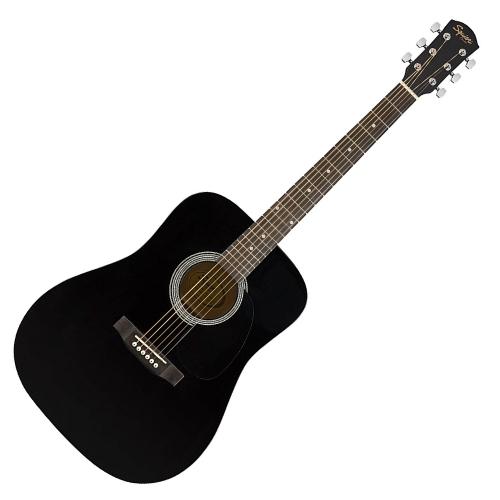 Squier SA-150P D桶木吉他 黑色