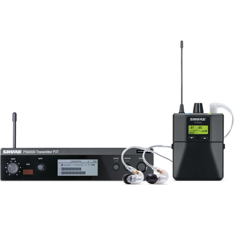 Shure PSM300 耳內監聽套裝組