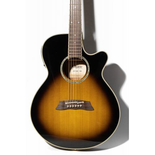 Takamine Thinline 薄桶電木吉他 三色漸層