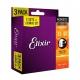超值限量|Elixir 買二送一套裝 木吉他弦 磷青銅 11-52