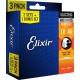 超值限量 Elixir 買二送一套裝 電吉他弦 10-46