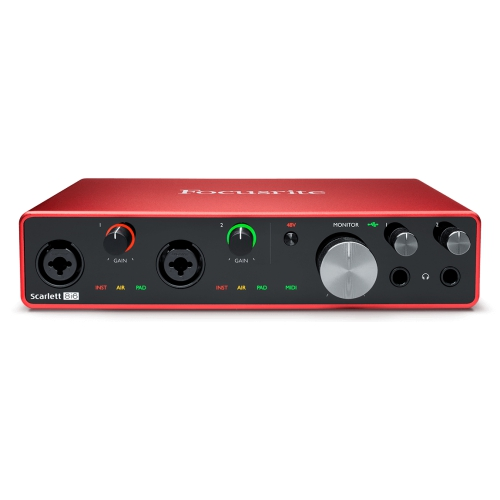 Focusrite Scarlett 8i6 第三代 Type-C USB 錄音介面