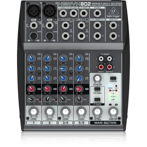 Behringer XENYX802 混音器