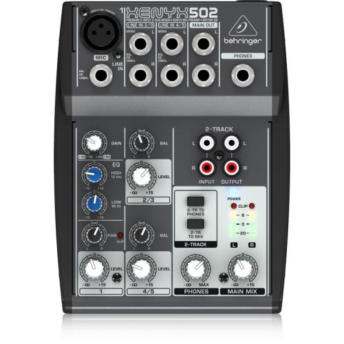 Behringer XENYX502 混音器