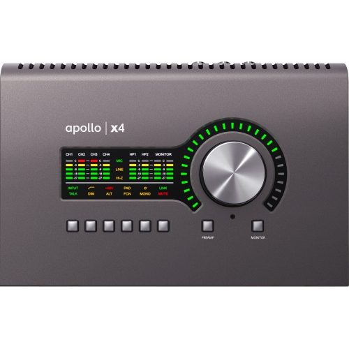 Universal Audio Apollo X4 Thunderbolt錄音介面