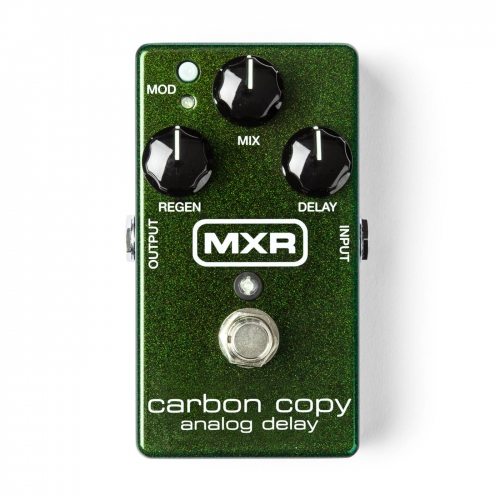 Dunlop MXR Delay效果器 Carbon Copy Analog Delay M169