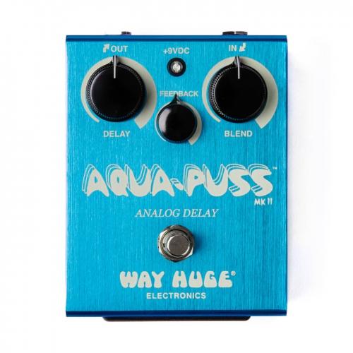 Dunlop Delay效果器 Way Huge Aqua-Puss Analog Delay WHE701