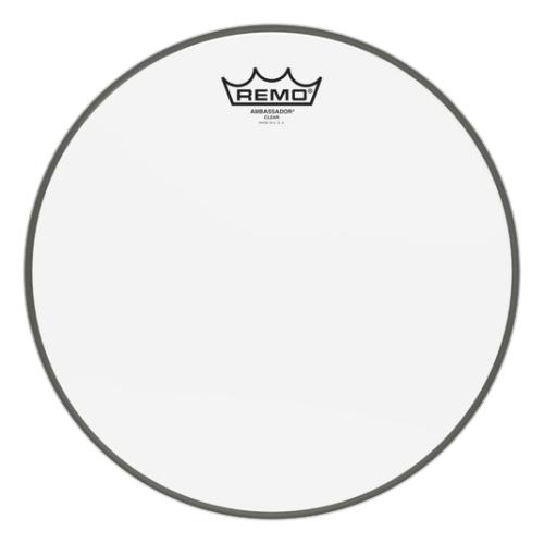 "Remo 12"" Ambassador Clear 單層10mil透明 打擊面/響應面 鼓皮 BA-0312-00"