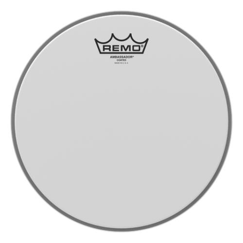 "Remo Ambassador Coated 10"" 噴白單層鼓皮 BA-0110-00"