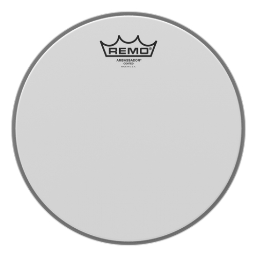 "Remo 10"" Ambassador Coated 噴白單層鼓皮 BA-0110-00"