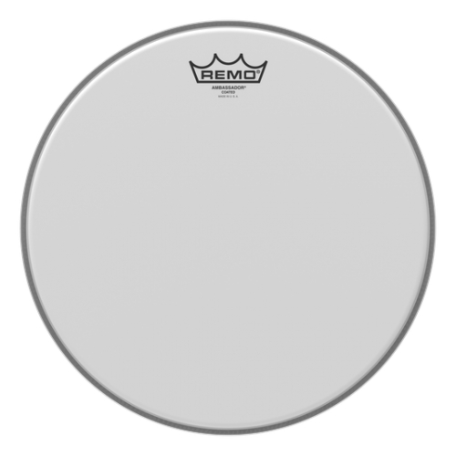 "Remo 13"" Ambassador Coated 噴白單層鼓皮 BA-0113-00"