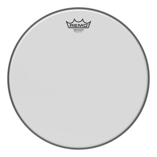 "Remo 14"" Ambassador Smooth White 光滑噴白單層鼓皮 BA-0214-00"
