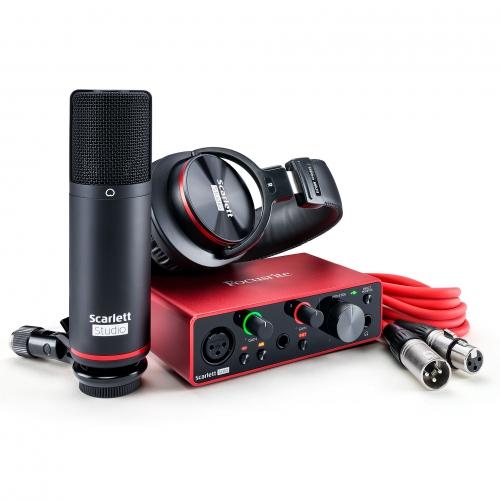 Focusrite Scarlett Solo Studio 第三代 Type-C USB 錄音介面套裝組
