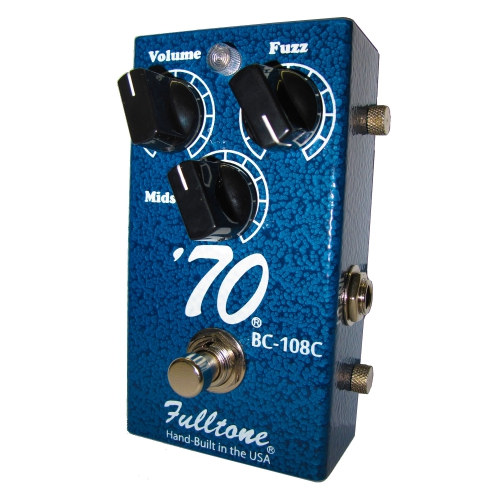 Fulltone 70-BC Fuzz 效果器 '70 Silicon-Powered Fuzz