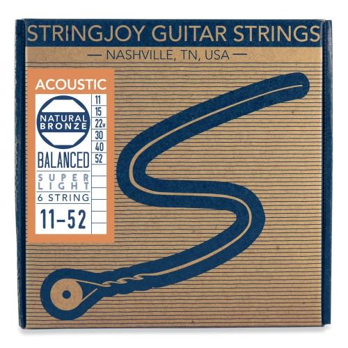 Stringjoy 11-52 磷青銅木吉他弦 NB1152