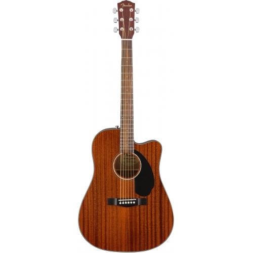 Fender CD-60SCE D桶面單缺角電木吉他 | 全桃花心木