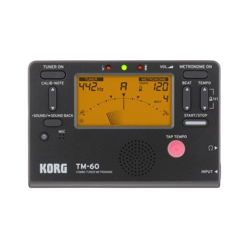 Korg 二合一 節拍器|調音器 TM-60