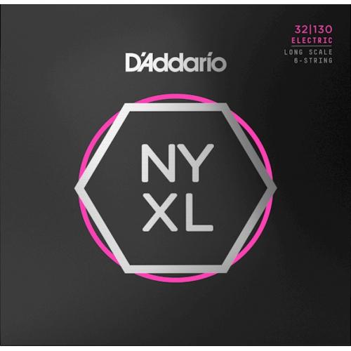 D'Addario NYXL32130 電貝斯弦 32-130 六弦