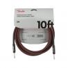 Fender 導線 10ft 專業級II頭  紅色編織