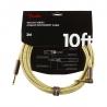 Fender 導線 10ft Deluxe系列 IL頭 黃色編織