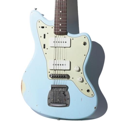 Nashguitars 客製仿舊吉他 JM63 Sonic Blue / 輕度仿舊 Light / 玫瑰木指板