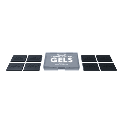 REMO Crown Control Gels™ 鼓用凝膠消音/弱音墊片 8片裝