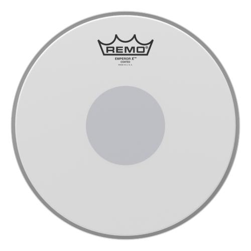 "Remo Emperor X Coated / Bottom Black Dot 10"" 噴白雙層小鼓皮 BX-0110-10"