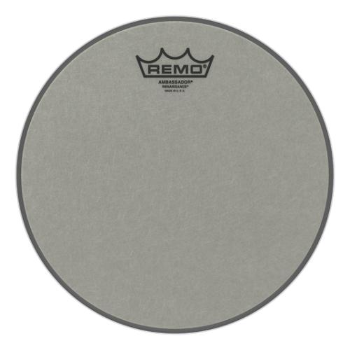 """Remo 10"""" Ambassador Renaissance 單層粗糙噴白鼓皮 RA-0010-SS"""