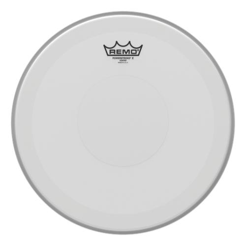 "Remo 14"" Powerstroke P3 X Coated 單層噴白貼點 小鼓皮 PX-0114-C2"