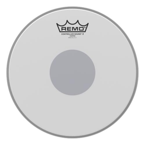 "Remo Controlled Sound X Coated Black Dot 10"" 單層噴白貼點小鼓皮 CX-0110-10"