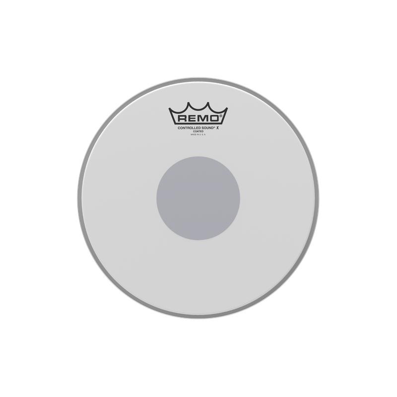 "Remo 10"" Controlled Sound X Coated Black Dot 單層噴白貼點小鼓皮 CX-0110-10"