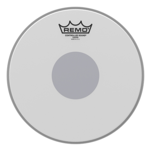 "Remo 10"" Controlled Sound Coated Black Dot 單層噴白貼點鼓皮 CS-0110-10"