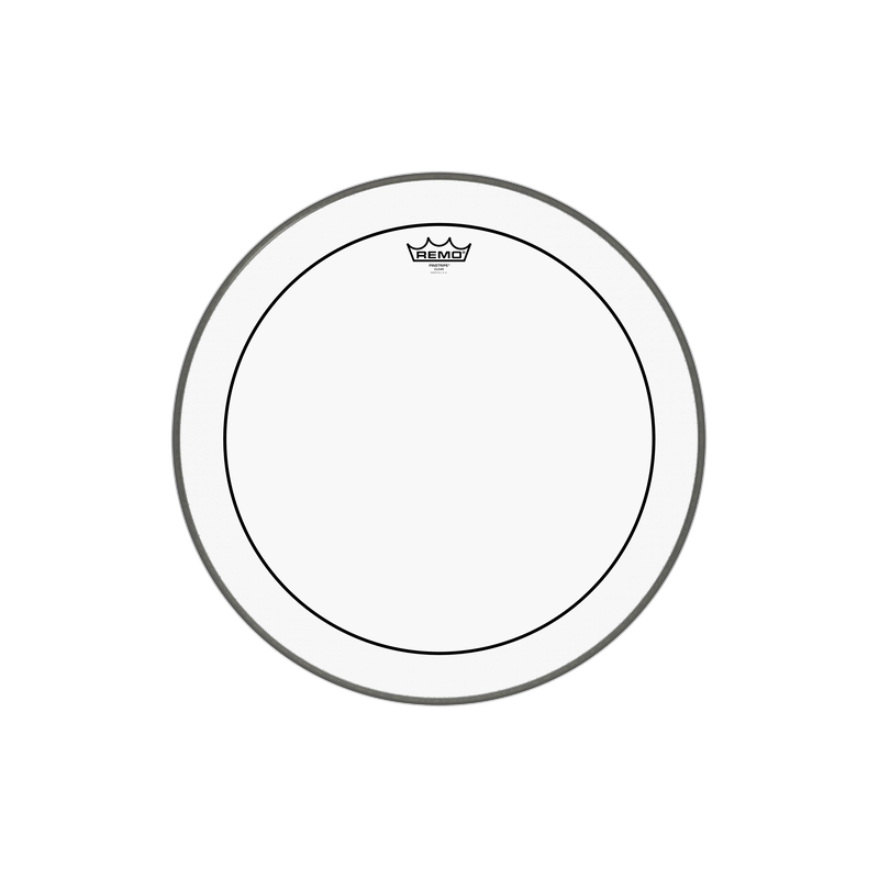 "Remo 20"" Pinstripe Clear 雙層油面大鼓皮 PS-1320-00"