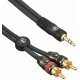 Planet Waves 音源線 RCA to 3.5mmTRS Custom Series PW-MP-05