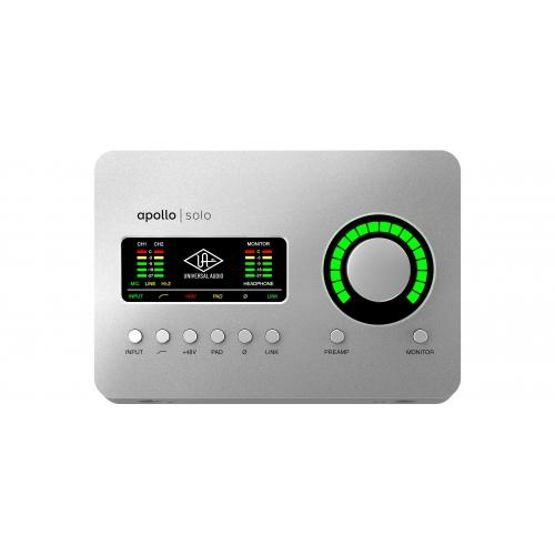 Universal Audio Apollo Solo Thunderbolt錄音介面