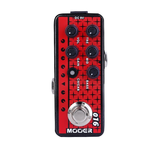 Mooer 迷你前級模擬效果器 016 Phonix(模擬 Engl Fireball)